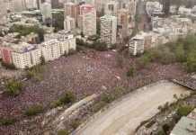 Protestos e violência no Chile atinge a igreja local