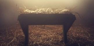 O menino nascido na manjedoura é a esperança do mundo caído