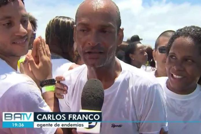 Batismo coletivo de 2000 pessoas é realizado por igreja em Salvador