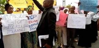 Milhões de cristãos nigerianos protestarem contra a perseguição