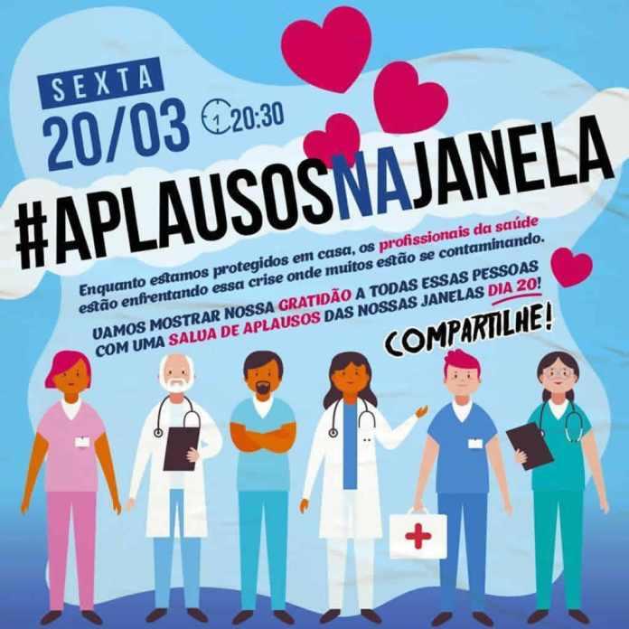 Coronavírus: Sexta-feira de louvor e aplausos nas janelas