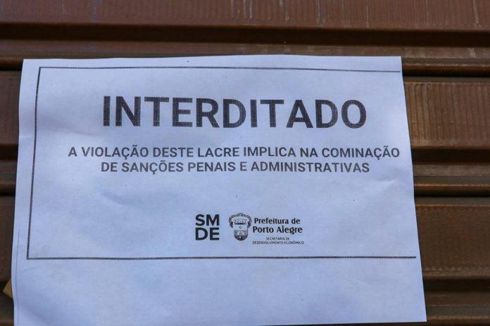Coronavírus: Templos evangélicos são interditados em Porto Alegre