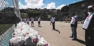 Igreja Universal distribui 31 toneladas de alimentos a famílias que perderam renda com quarentena