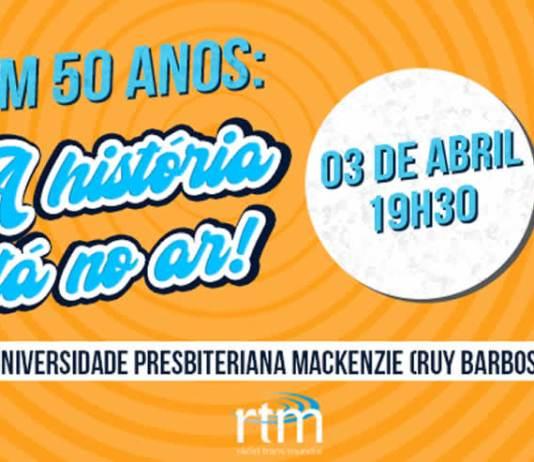 Rádio Trans Mundial - RTM vai comemorar 50 anos de fundação