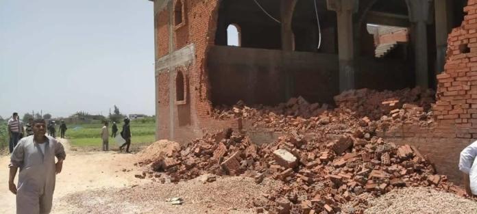 Igreja é demolida e cristãos são presos no Egito, por construção de salas para Escola Dominical