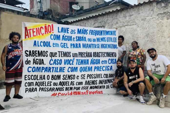 Coronavírus nas comunidades do Rio