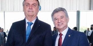 Presidente Jair Bolsonaro recebe comitiva da CGADB no Palácio do Planalto
