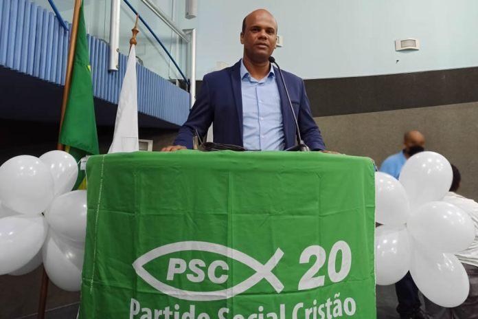 Rafael Ferreira é confirmado pelo PSC como candidato a vereador em Vitória