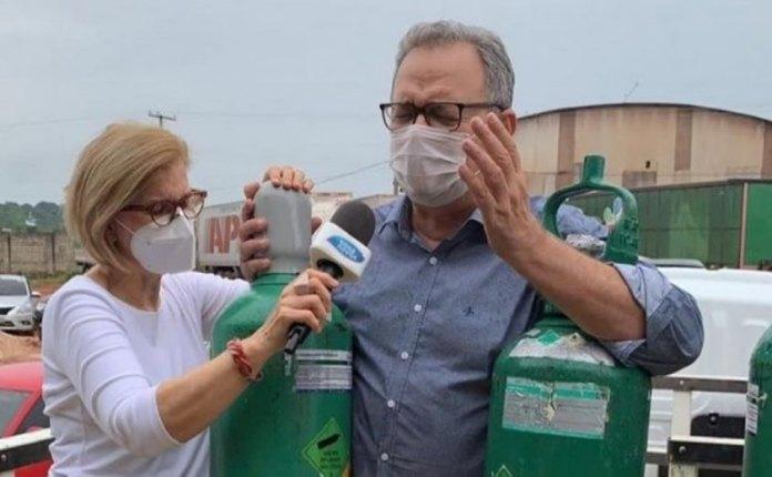 Assembleia de Deus - CADB envia 110 cilindros de oxigênio para o Amazonas