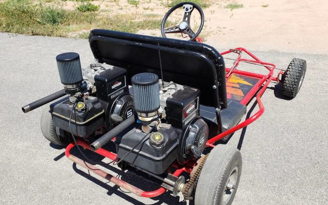Prepare Your Last Will And Testament Before You Buy This Twin Engine Gokart
