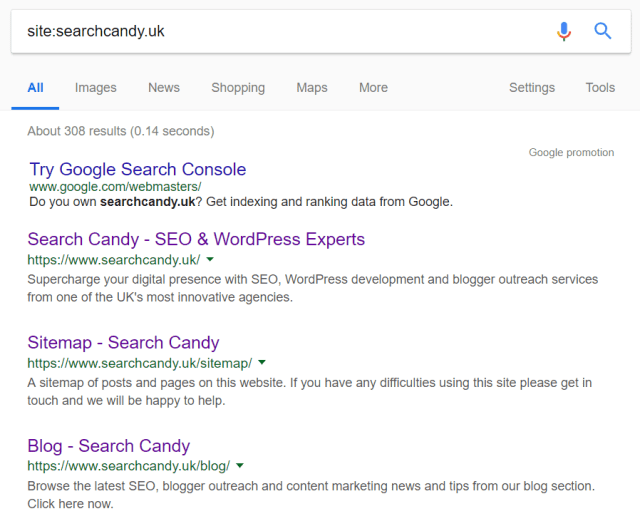 How to find out if a webpage or domain is indexed in Google
