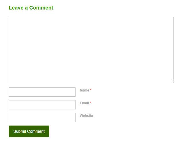 Blog comment.