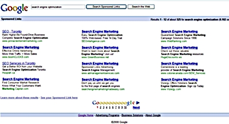 Google Sponsored Search