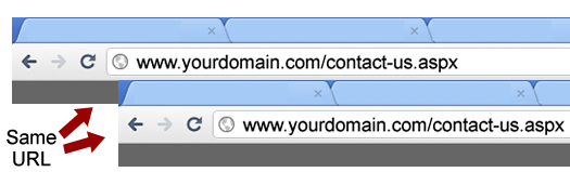 Form postback and tracking conversion