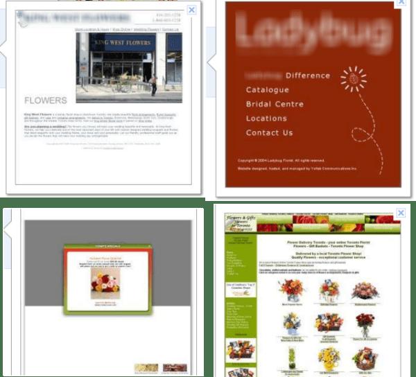 Google Instant Previews means web design