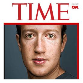 Zuckerberg on Time Magazine