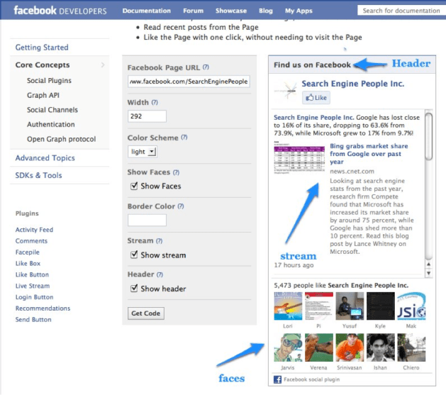 Facebook Developers Social Plugin | Like Box to WordPress
