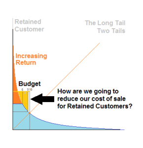 A Budget on a Long Tail