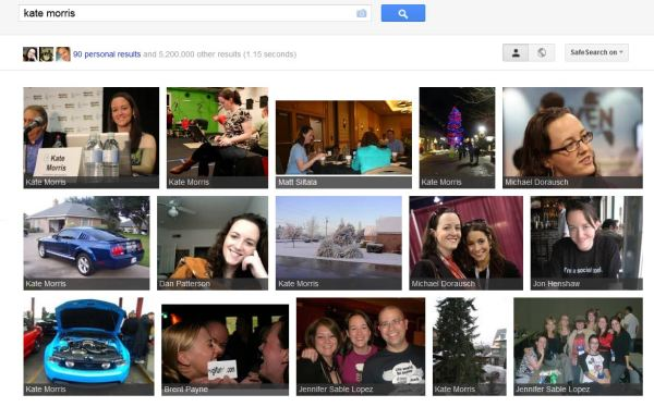 Search Plus in Google's Image Search
