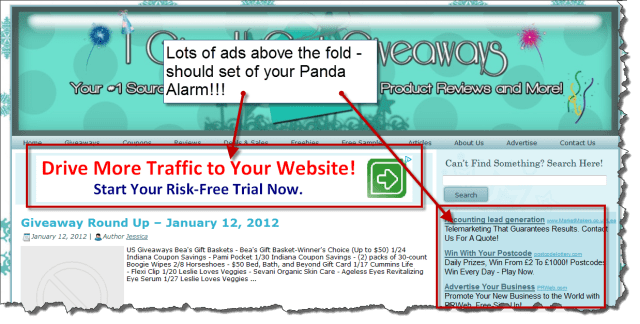 avoid panda when link building
