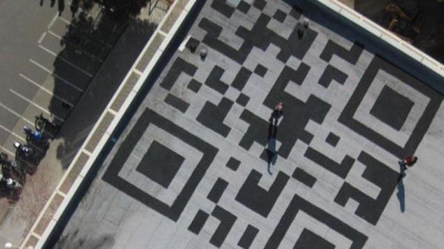 10. Facebook QR Code vs. Google Earth