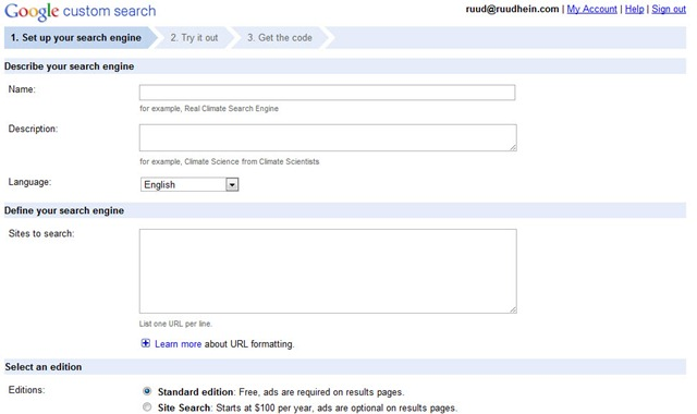 Optimize Google Custom Search for In-Site-Search