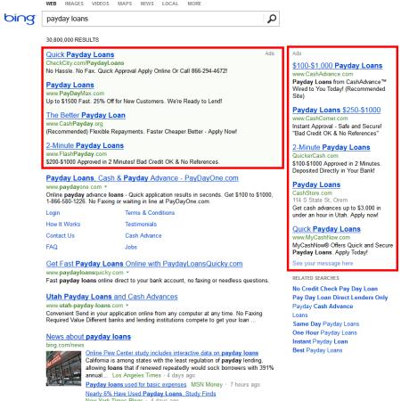 Bing SERP