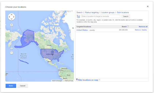 AdWords-Targeting-Country