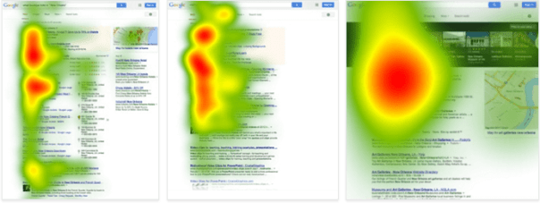 google serps heatmap