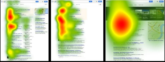 google serps heatmap