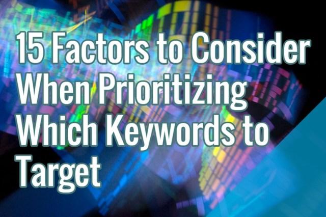 keyword-priority-strategy