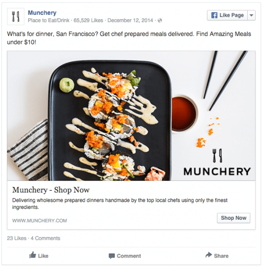 Munchery makes effective.8