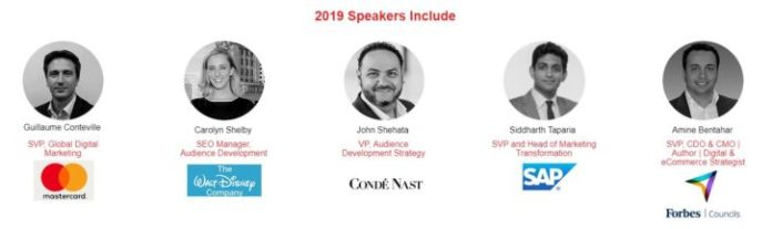 transformation of search summit 2019 speakers