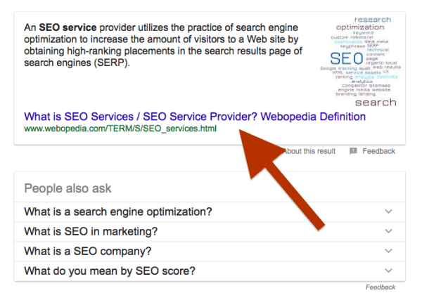 what is search engine results page serp definition - 682×486