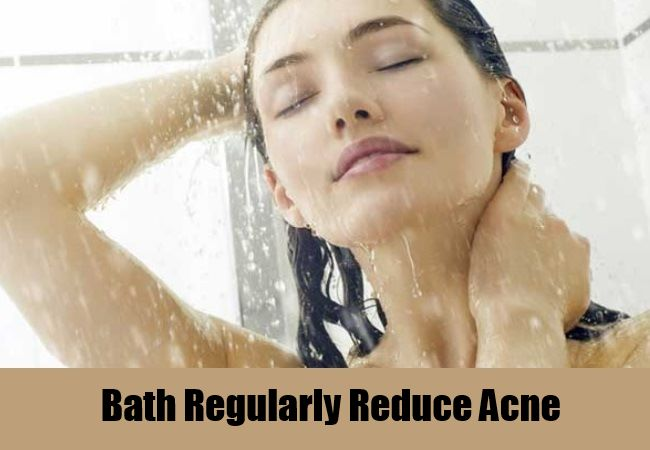 Bath Regularly Reduce Acne