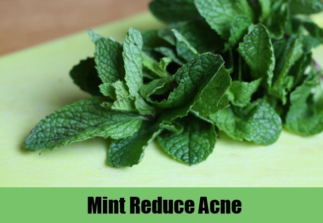 Mint Reduce Acne