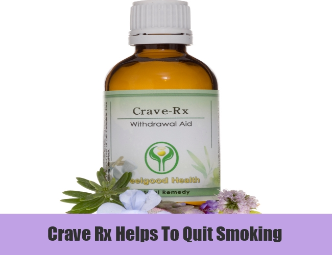 Crave Rx Helps To Quit Smoking