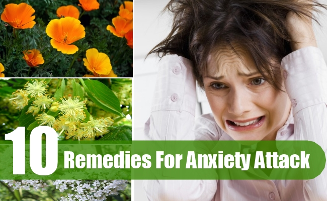 Remedies For Anxiety Attack