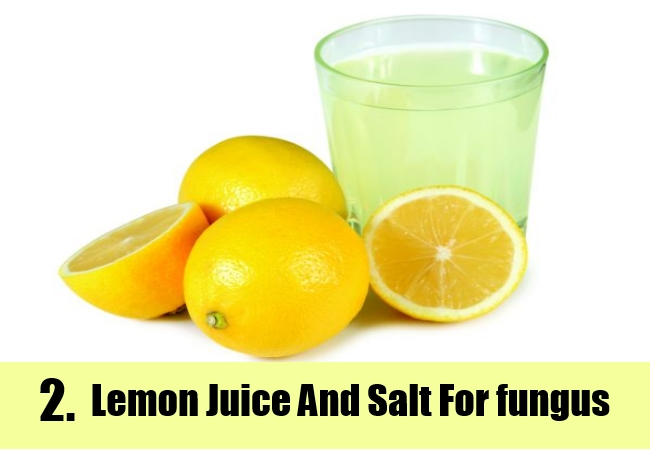 Lemon Juice And Salt
