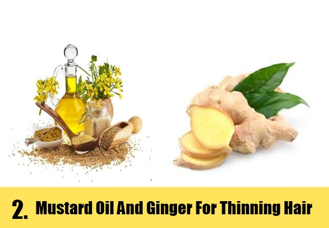 Mustard Oil And Ginger