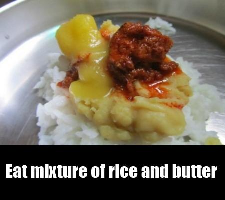 soft rice and butter