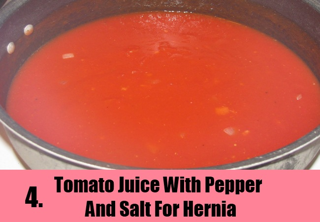 Tomato Juice With Pepper And Salt