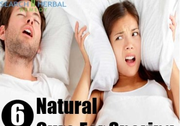 6 Natural Cure For Snoring