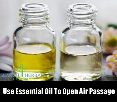 Use Essential Oils to Open Air Passages