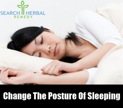 Change the Posture of Sleeping