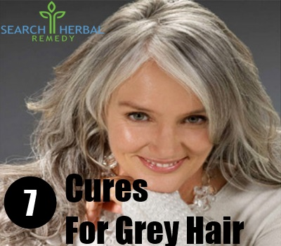 7 Cures For Grey Hair