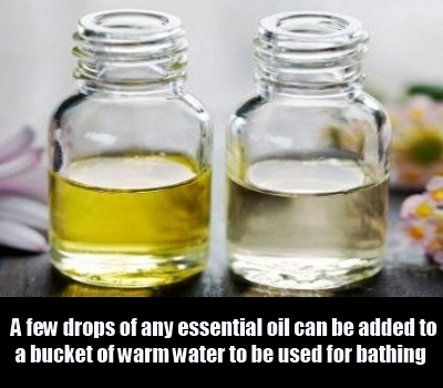 essential oil and lavender oil