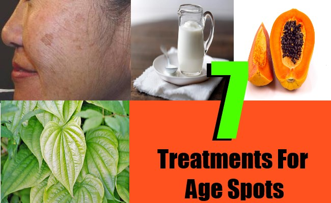7 Treatments For Age Spots