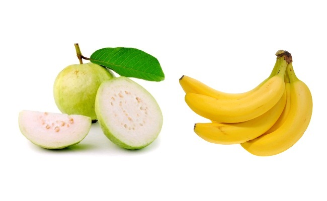 Guava and Banana