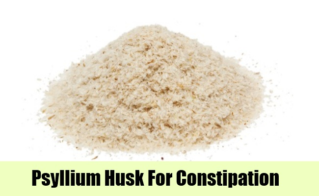 how to take psyllium husk for constipation